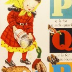 1940s Alphabet Poster