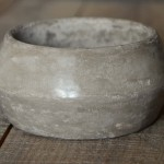 Concrete Bangle in Grey