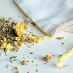 Organic Postpartum Herbal Bath Tea