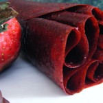 Strawberries and Chocolate Fruit Leather