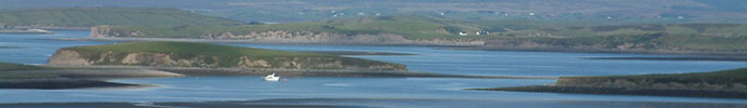 Clew Bay in Western Ireland