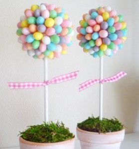 Jelly Bean Topiaries