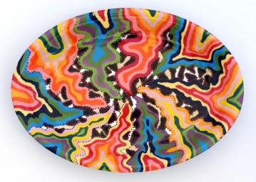 Colorful Serving Platter